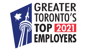 Greater Toronto's Top Employers 2021 logo