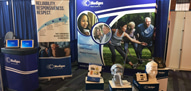 Medigas booth at the World Sleep Congress, 2019, Vancouver BC