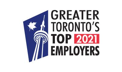 Greater Toronto Top Employer 2021 Logo