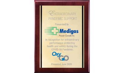 OxyGo Pandemic Response Award